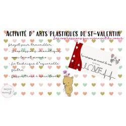 Art plastique de St-Valentin
