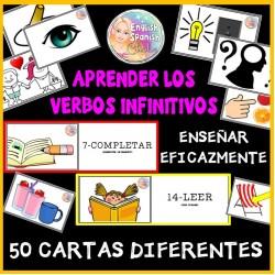 Verbos infinitivos - cartas de 1 a 50