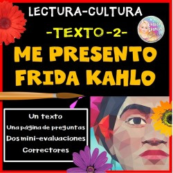 Lectura -2-: Me presento Frida Kahlo