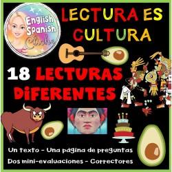 Liste des 18 lectures en espagnol
