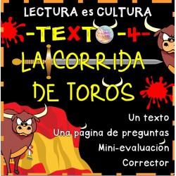Lectura -4-: La corrida de toros