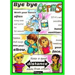 Bye Bye Germs!