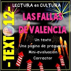 Lectura -12- Las fallas de Valencia