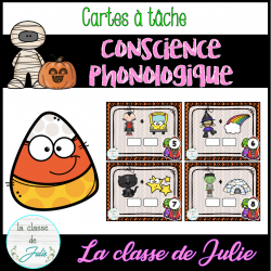 Conscience Phonologique - Halloween
