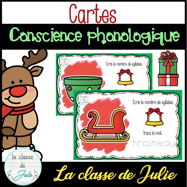 Conscience phonologique - syllabes - Noël