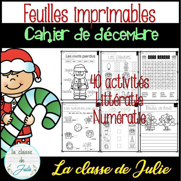 Cahier thématique - Noël / décembre