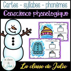 Conscience Phonologique - phonèmes - hiver