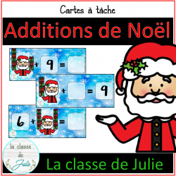 Atelier d'addition - Noël