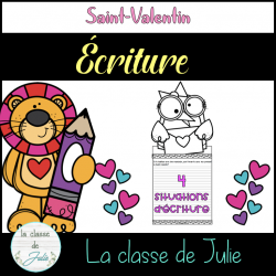 Situations d'écriture - St-Valentin