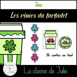 Les rimes - Saint-Patrick