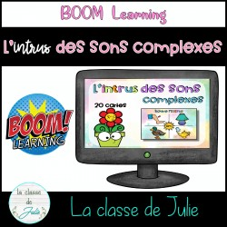Cartes BOOM - Les sons complexes - l'intrus
