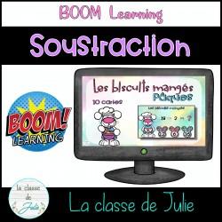 BOOM Learning - Soustraction de Pâques