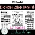 Dictionnaire illustré (couleur + noir et blanc)