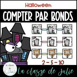 Compter par bonds de 2 - 5 - 10 - Halloween
