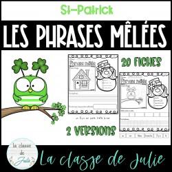 Les phrases mêlées de la St-Patrick