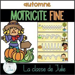 GRATUIT 24h atelier de motricité fine AUTOMNE