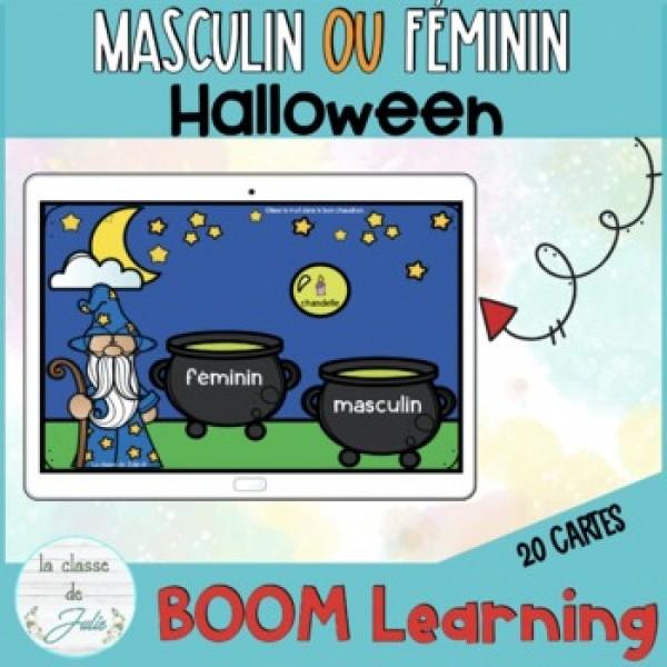 Halloween masculin/féminin chaudrons du magicien