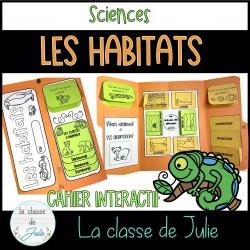 Les habitats cahier interactif