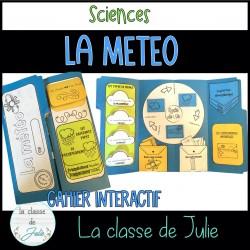 La météo cahier interactif