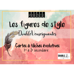 Cartes à tâches évolutives - figures de style