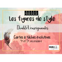 Cartes à tâches évolutives - figures de style