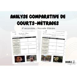 Analyse comparative de courts-métrages