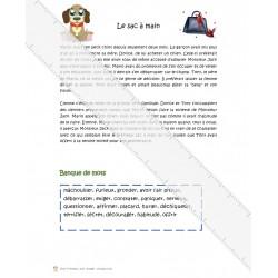 Texte à compléter (structure narrative)