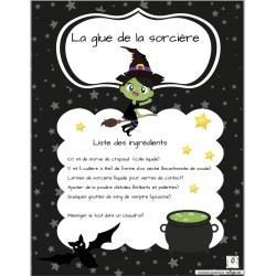 Glue de la sorcière