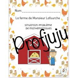 Situation-problème: La ferme de M. Lafourche