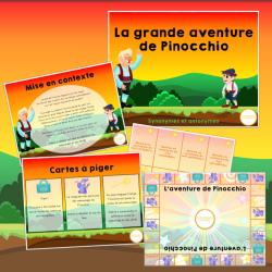 Jeu - La grande aventure de Pinocchio