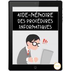 Aide-mémoire des procédures informatiques