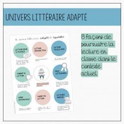 Univers littéraire adapté - Petits auteurs