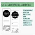Signets habitudes - Petits auteurs