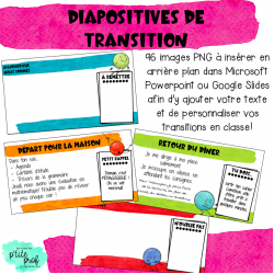 Diapositives de transition