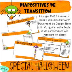 Diapositives de transition - Halloween