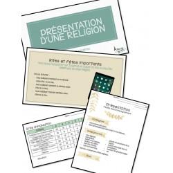 Projet sur les cinq grandes religions - 3e cycle