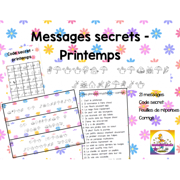 Messages secrets - Printemps