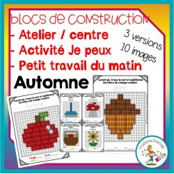 Atelier de blocs de construction - automne