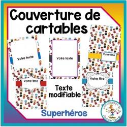 pages couvertures - Superhéros