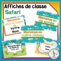 Décoration de classe - Safari