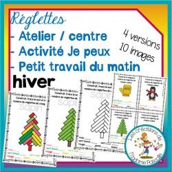 Atelier de réglettes - Hiver
