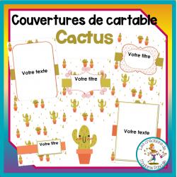 pages couvertures - cactus