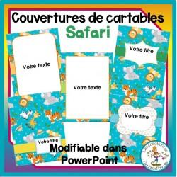 Pages couvertures - safari