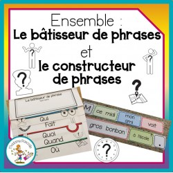 Ensemble Bâtisseur et Constructeur de phrases