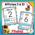 Décoration de classe - Pirates