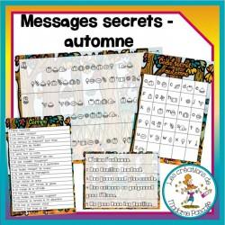 Message secret - Automne