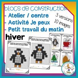 Atelier de blocs de construction - hiver