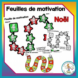 Feuille de motivation - Noël