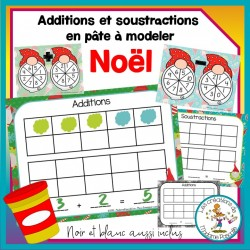 Additions et soustractions - Noël