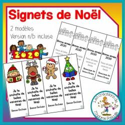 Signets Joyeux Noël et bonne année